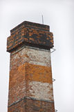 Brick chimney. In Olesnica, Poland Royalty Free Stock Image