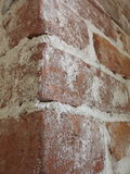 Brick chimney close up 1. Detail of red brick chimney showing texture Royalty Free Stock Photos