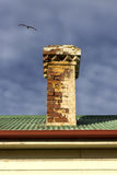 Brick Chimney Stock Photography