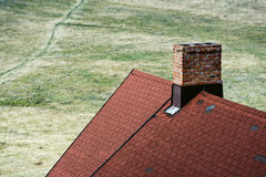 Brick chimney horn Stock Image