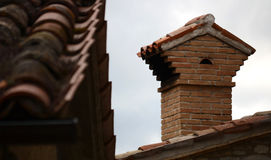 Brick chimney Stock Photos