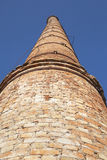 Brick chimney. Royalty Free Stock Images