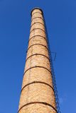 Brick chimney. Royalty Free Stock Photos