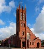 Brick Church. Standing tall Stock Photo
