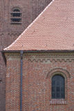 Brick Church in Germany Stock Images