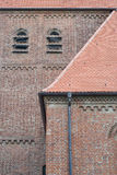 Brick Church in Germany Royalty Free Stock Photography