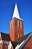Brick Church Steeple Stock Images