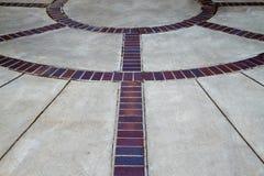 Brick circles Royalty Free Stock Image