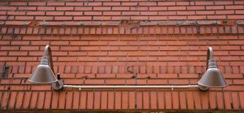 brick classic lights old Στοκ εικόνες με δικαίωμα ελεύθερης χρήσης