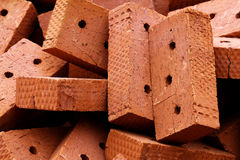 Brick  clay  heap Royalty Free Stock Photography
