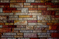 Brick color wall texture Royalty Free Stock Photos