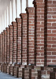 Brick columns Royalty Free Stock Images