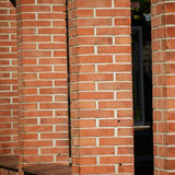 Brick columns Royalty Free Stock Photo