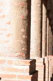 Brick columns Stock Photo
