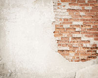 Brick,concrete grunge wall background Royalty Free Stock Photo