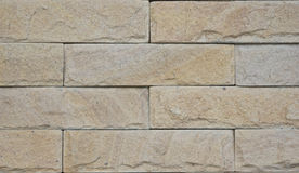 Brick of concrete wall. Brick made of concrete and sand created big strong wall Stock Images