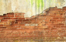 Brick concrete wall Stock Photo