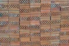 Brick Construction material prepare for construction. Site Royalty Free Stock Photos
