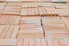 Brick Construction material prepare for construction. Site Stock Photography