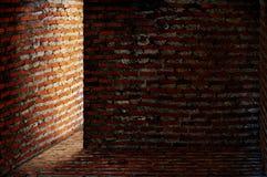 Brick corner Stock Image