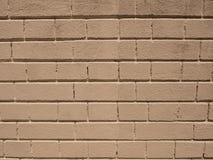 Brick Cream background Stock Photography