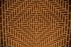 Brick design ceiling Stock Image