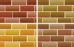 Brick designs Stock Photo