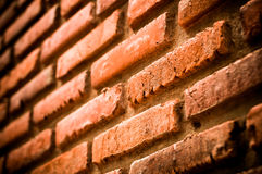 Brick with dirty wall Stock Photo