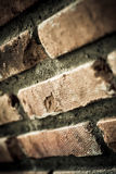 Brick with dirty wall Stock Photography