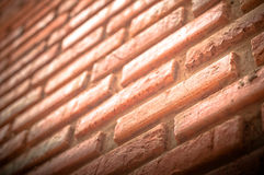Brick with dirty wall Stock Image