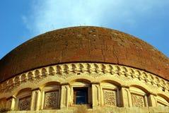 Brick dome. Roof of palace Ishak Pasha Saray in Dogubeyazit, Turkey Stock Photo