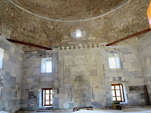 Brick dome of a 14th century mosque,Milet, Turkay Stock Photo