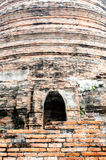 The Brick Door. At Ayutthaya city n thailand Stock Photo