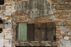 Brick and Doors Stock Photography