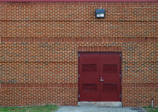 Brick electrical generator and storage shed Royalty Free Stock Images