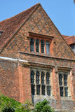 Brick elizabethan home Royalty Free Stock Photo