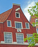 Brick Facade Amsterdam Royalty Free Stock Image