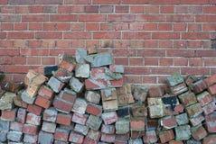 Brick Facade Royalty Free Stock Image