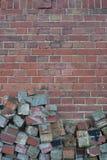 Brick facade Royalty Free Stock Photos