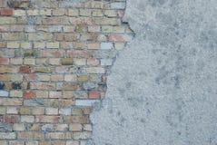 Brick facade Stock Photos