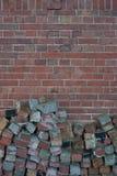 Brick facade Stock Photo