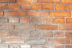 Brick facade Royalty Free Stock Images