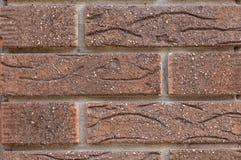 Brick facade closeup Stock Image