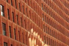 Brick facade design Royalty Free Stock Image