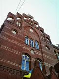 Brick facade Royalty Free Stock Image