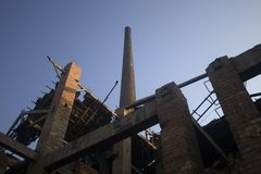 Brick factory 02 Stock Image