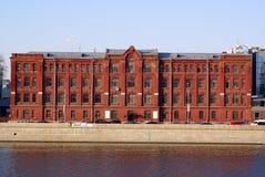 Brick factory Royalty Free Stock Photo