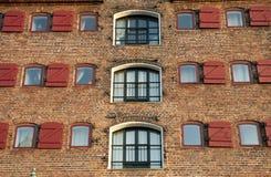 Brick fasade Stock Photo