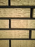 Brick fence with well-defined seams. Texture, background stock images