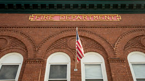 Brick fire department Stock Photos